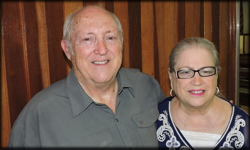 Tom and Penny Latham