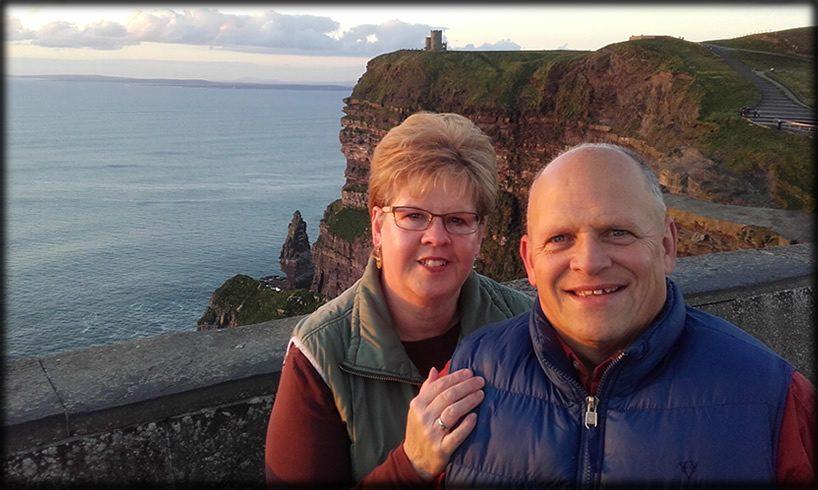 Dan and Sharon Pero